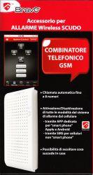 COMBINATORE TELEFONICO GSM PER ALLARME SCUDO