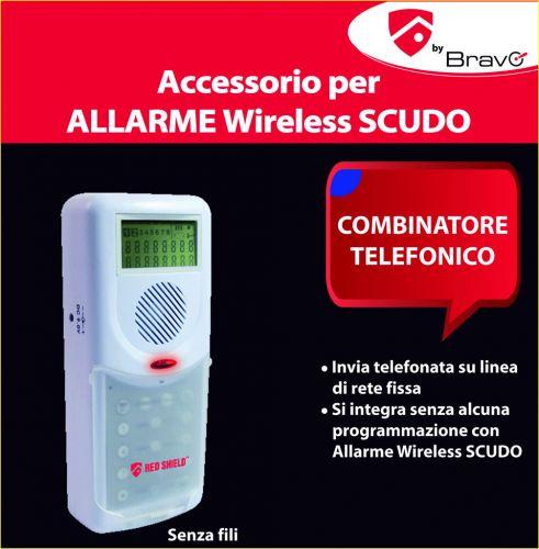 Combinatore telefonico per allarme scudo for Combinatore telefonico auto