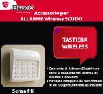 TASTIERA WIRELESS X ALLARME SCUDO